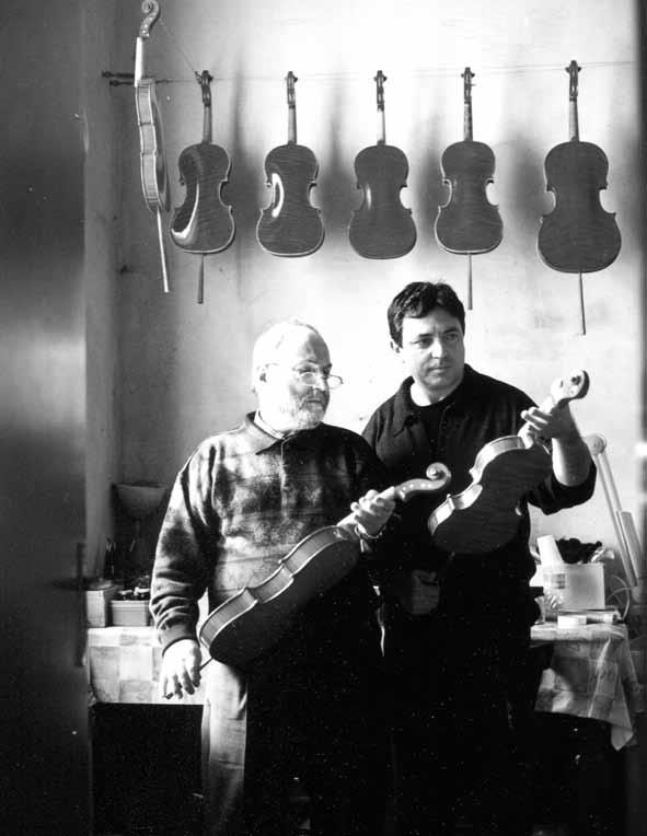 Arturo Virgoletti in compagnia del maestro Bissolotti